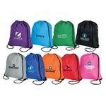 Custom Large Drawstring Sport Tote Bag