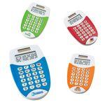 Custom Colorful Dual Powered Pocket Calculator