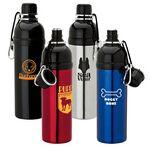 Custom 24 oz. Handy Pet Water Bottle