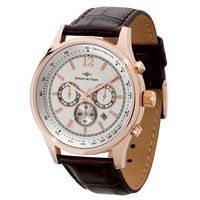 774015469-184 - Watch Creations Men's Chronograph Watch w/ Rose Gold Finish & Date Display - thumbnail