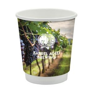 Prka 8 oz. Double Wall Drinking Paper Cup