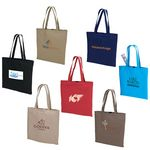 Custom Natural Colored Cotton Tote Bag