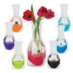 Custom Clear Base Vase