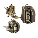 Custom 2 Person Picnic Backpack Set