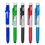 Custom Transformer 4 In 1 Phone Stand Pen Stylus LED Light