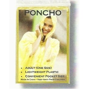 The Pocket Poncho