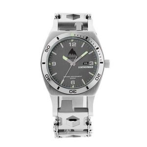 Leatherman® Tread Tempo Silver Multi Tool Watch