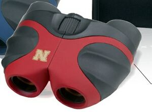 Binolux Compact Binocular - Red