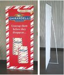Custom L-Style Banner Stand with 24