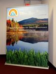 Custom Retractable Banner Stand with 60
