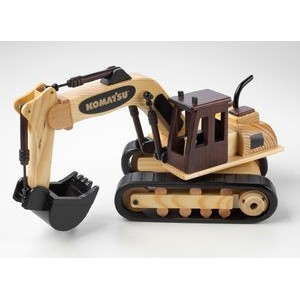 Wooden Excavator w/ Cinnamon Almonds