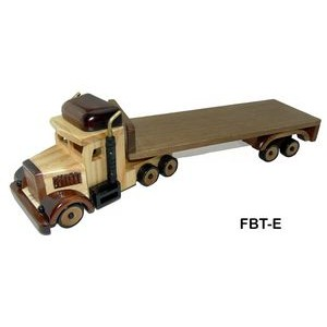 Wooden Flat Bed Truck w/ Chocolate Almonds