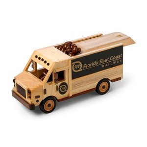 Wooden Delivery Van w/ Jumbo Cashews