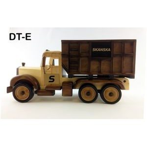 Wooden Dump Truck w/ Chocolate Almonds