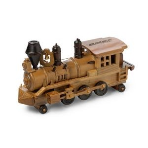 Wooden Train Engine w/ Natural Pistachios