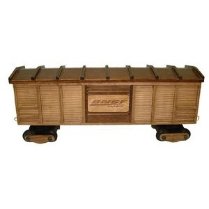 Wooden Train Box Car w/ Pistachios