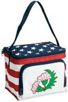 Custom Stars and Stripes 6-Can Cooler/ Lunch Bag