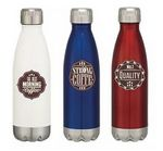 Custom 16 Oz. Double Wall Stainless Steel Vacuum Insulated Bottle