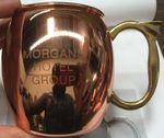 Custom 16 Oz. Moscow Mule Mug - The Classic Copper