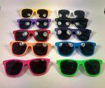 Custom Velvet Soft Touch 80's Style Sunglasses