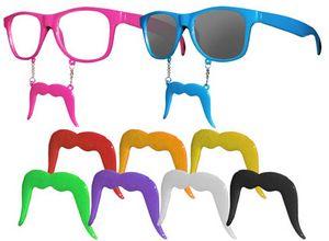 Custom Mustache Sunglasses