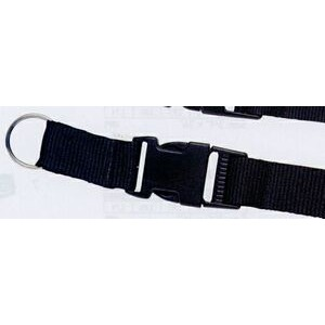 "Lanyard w/ Split Ring & Snap Buckle (1""x42"")"