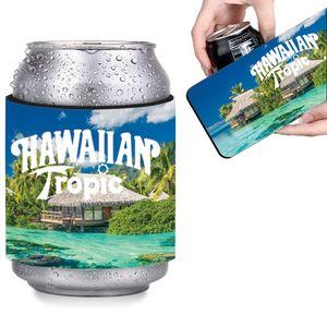 Slap N Wrap Neoprene Beverage Insulator - Full Color Sublimation