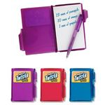 Custom Mini Pocket Notebook w/ Pen