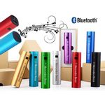 Custom 2-in-1 Bluetooth Speaker & 4000 mAh Power Bank Gift Boxed