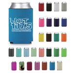 Custom Economy Premium Foam Can Cooler - Screen Printed