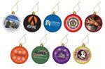 Custom Flat Shatterproof Ornaments