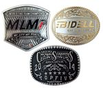 Custom Antique Hand Finished Belt Buckle (2