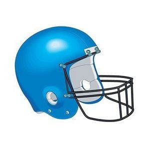 Football Helmet Temporary Tattoo