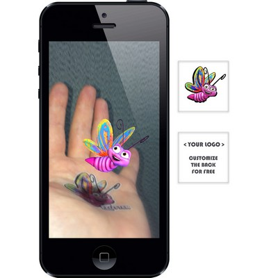 Augmented Reality Tattoos - Butterfly