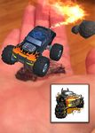 Custom Augmented Reality Tattoos - Black Monster Truck