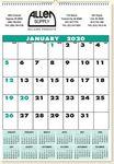 Custom Custom 1-Month Commercial 2016 Wall Calendar (Offset)