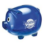 Custom Savings Bank - Piggy Shaped