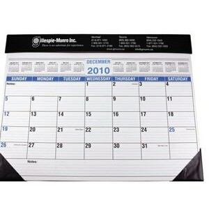 Full Size Desk Planner w/ Black Vinyl Trim