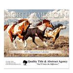 Custom Stapled Wall Calendar (North American Wildlife)