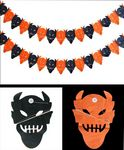 Custom Halloween Demon Garland