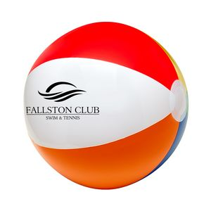 12 6 Color Beach Ball