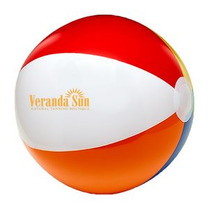 6 6 Color Beach Ball