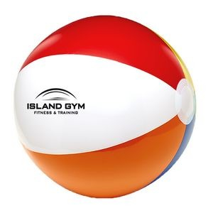 "24"" 6 Color Beach Ball"