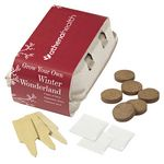 Custom Grow Your Own Garden Kit-Winter Wonderland