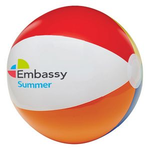 16 6 Color Beach Ball