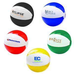 6 Two Tone Beach Ball