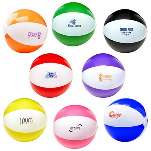 16 Two Tone Beach Ball