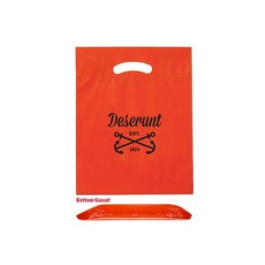 "OXO Reusable Die Cut Fold-Over Reinforced Bag (9""x12""x2"") - Flexo Ink"