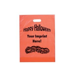 Halloween Stock Design Orange Frosted Die Cut � Pumpkin Row - Customized (12