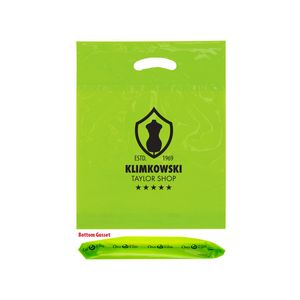 OXO Reusable Die Cut Fold-Over Reinforced Bag (12x16x3) - Flexo Ink